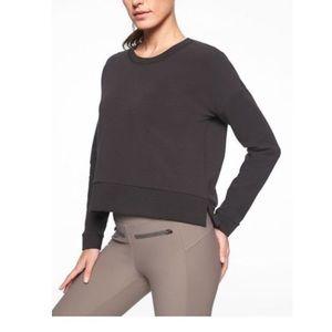 Athlete Modern Sweatshirt in Black Size Tall M NWT